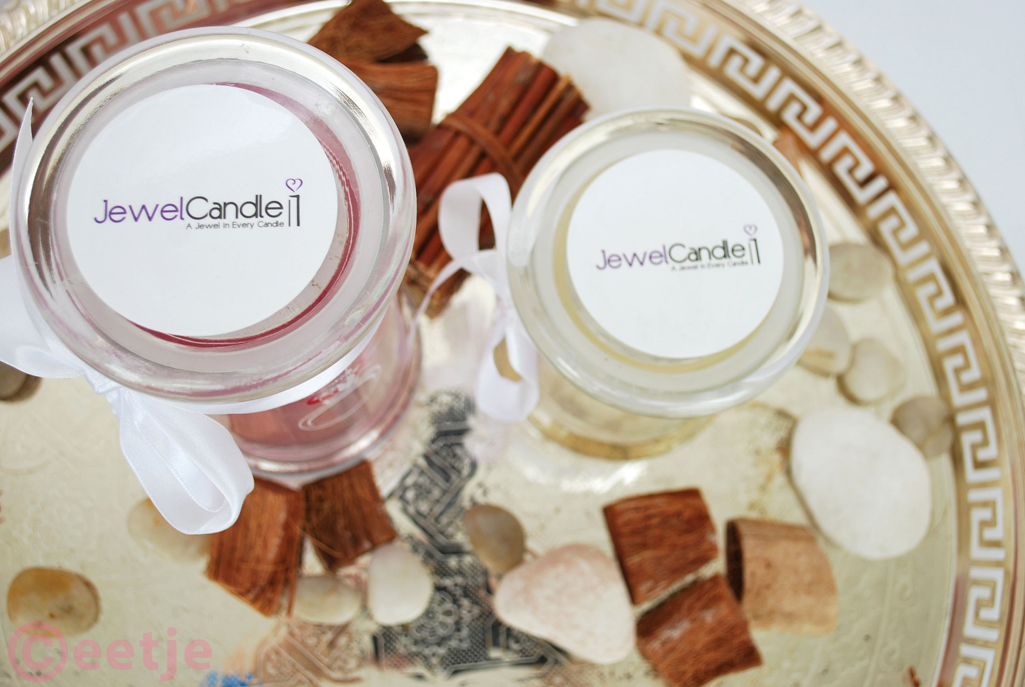 Review JewelCandle  creamy vanilla geurkaars