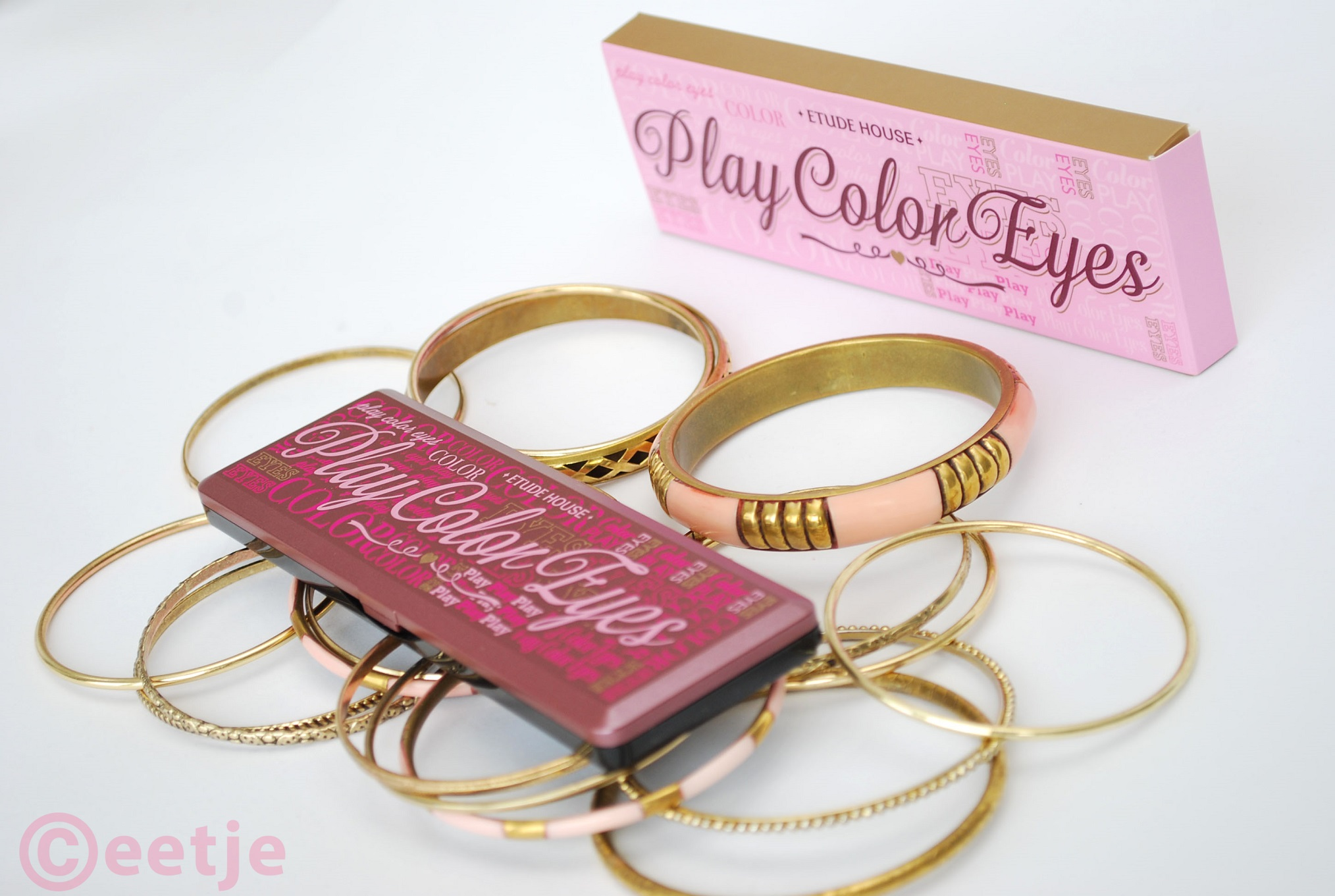 Etude House play color eyes so hot palette review swatch