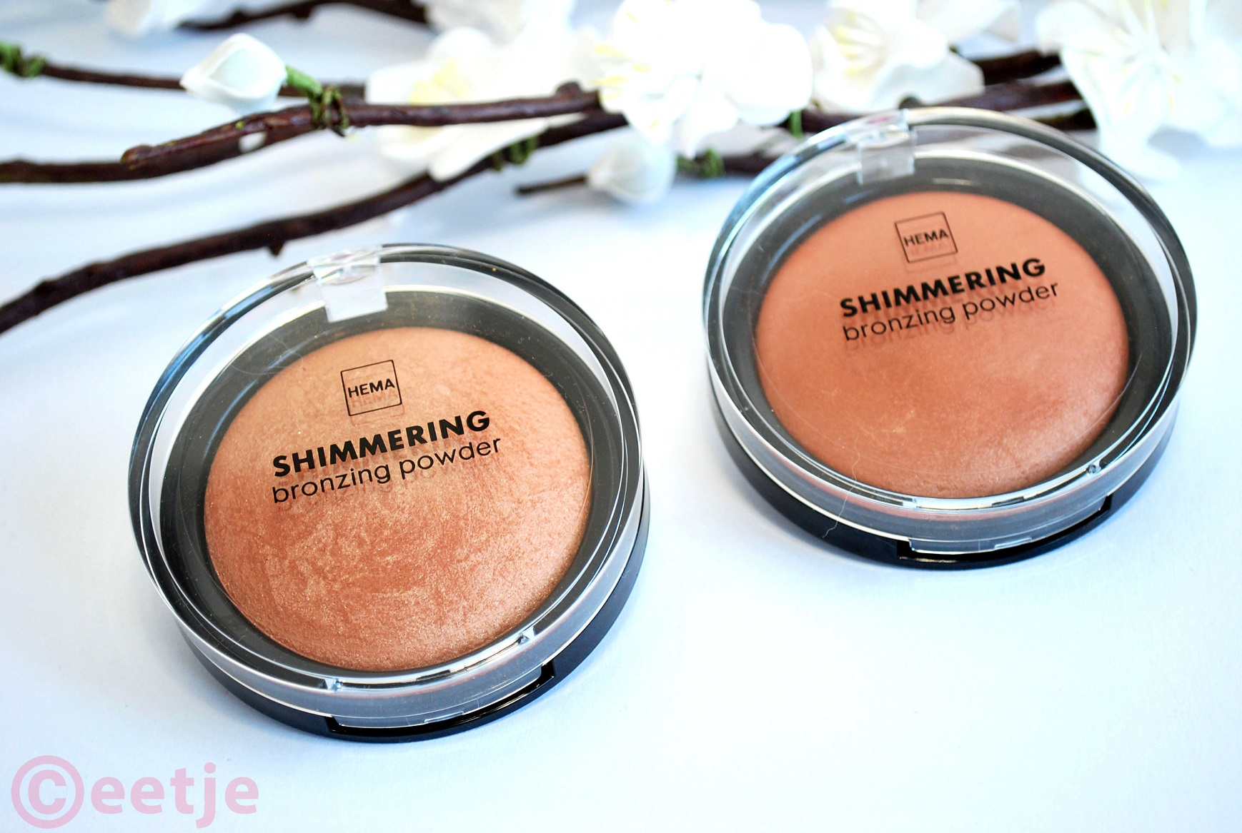 Hema bronzing powder nr 12 en nr 11 review blog
