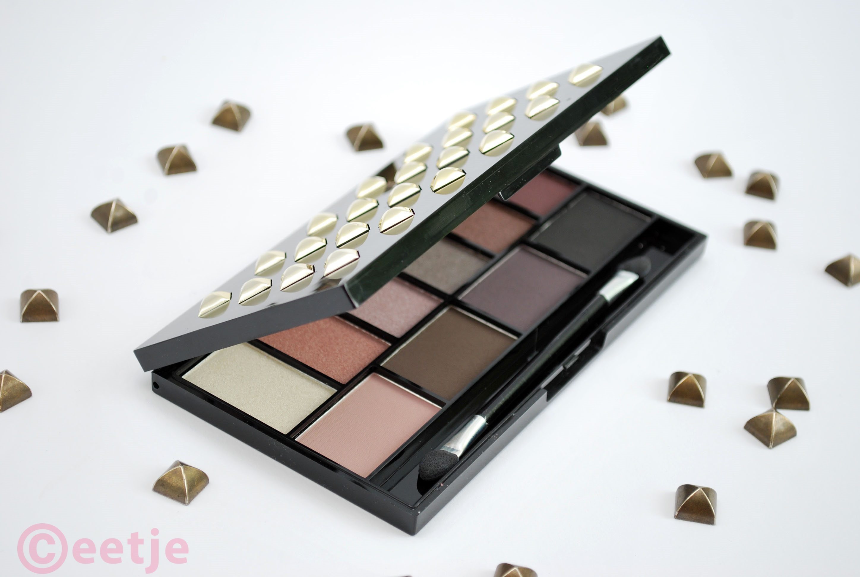 Review MUA pretty edgy eyeshadow palette