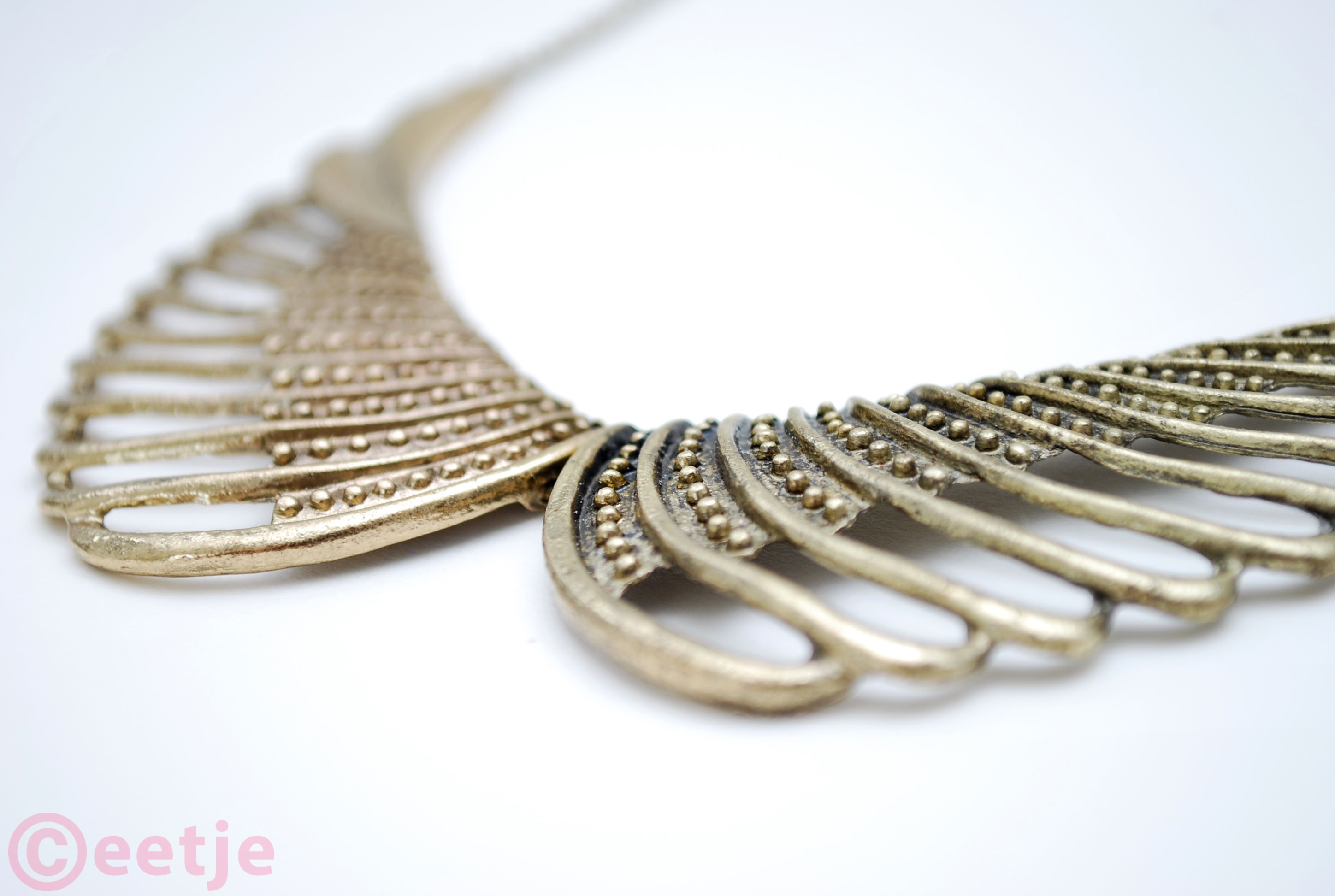 Wing feather necklace born pretty store