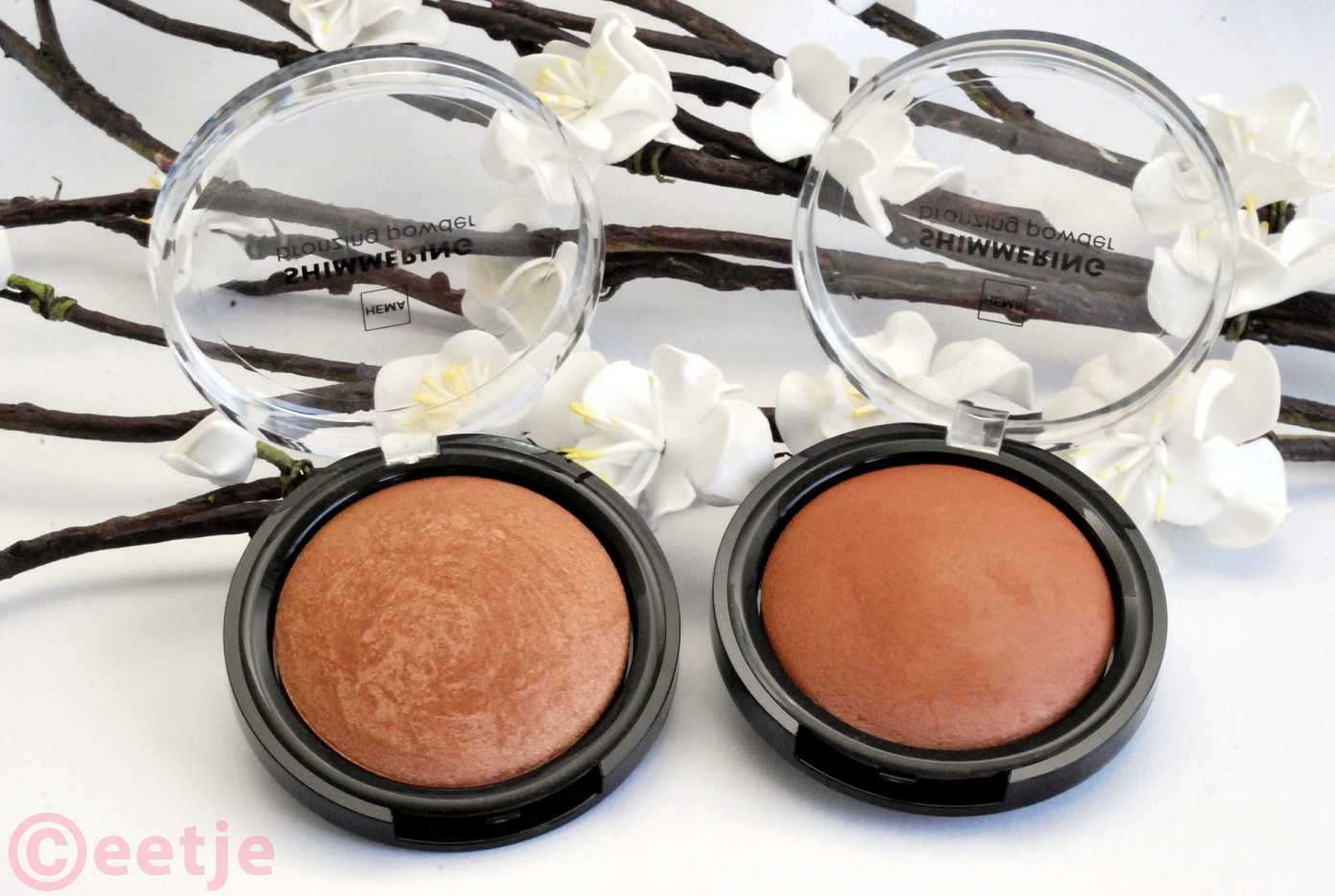 review Hema shimmering bronzing powder nr 11 en nr 12