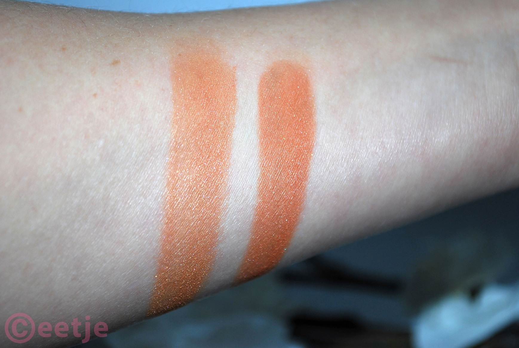 swatches hema shimmering bronzing powder 11 en 12 review