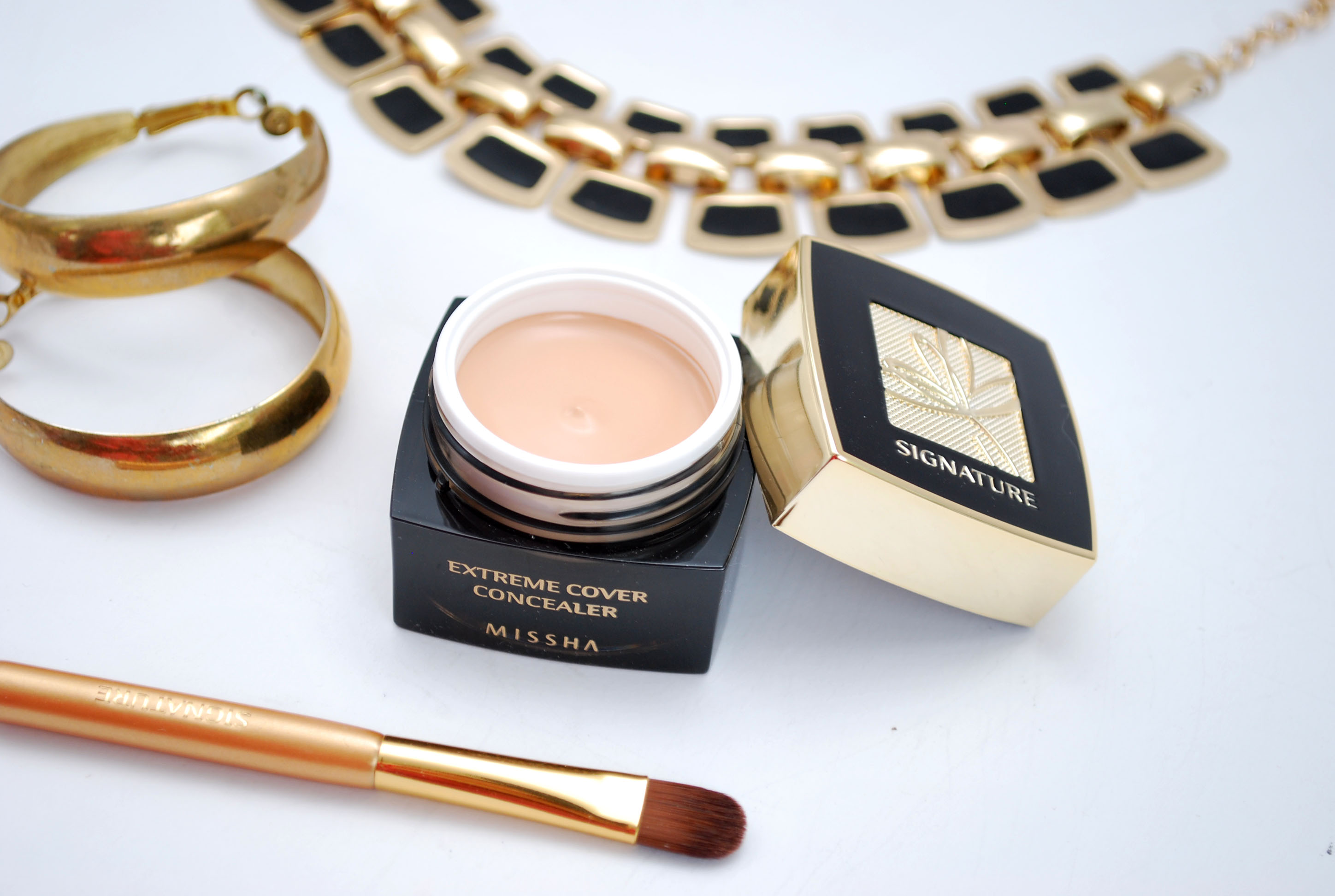 review Missha concealer Missha Signature Extreme Cover Concealer #21 Light Beige