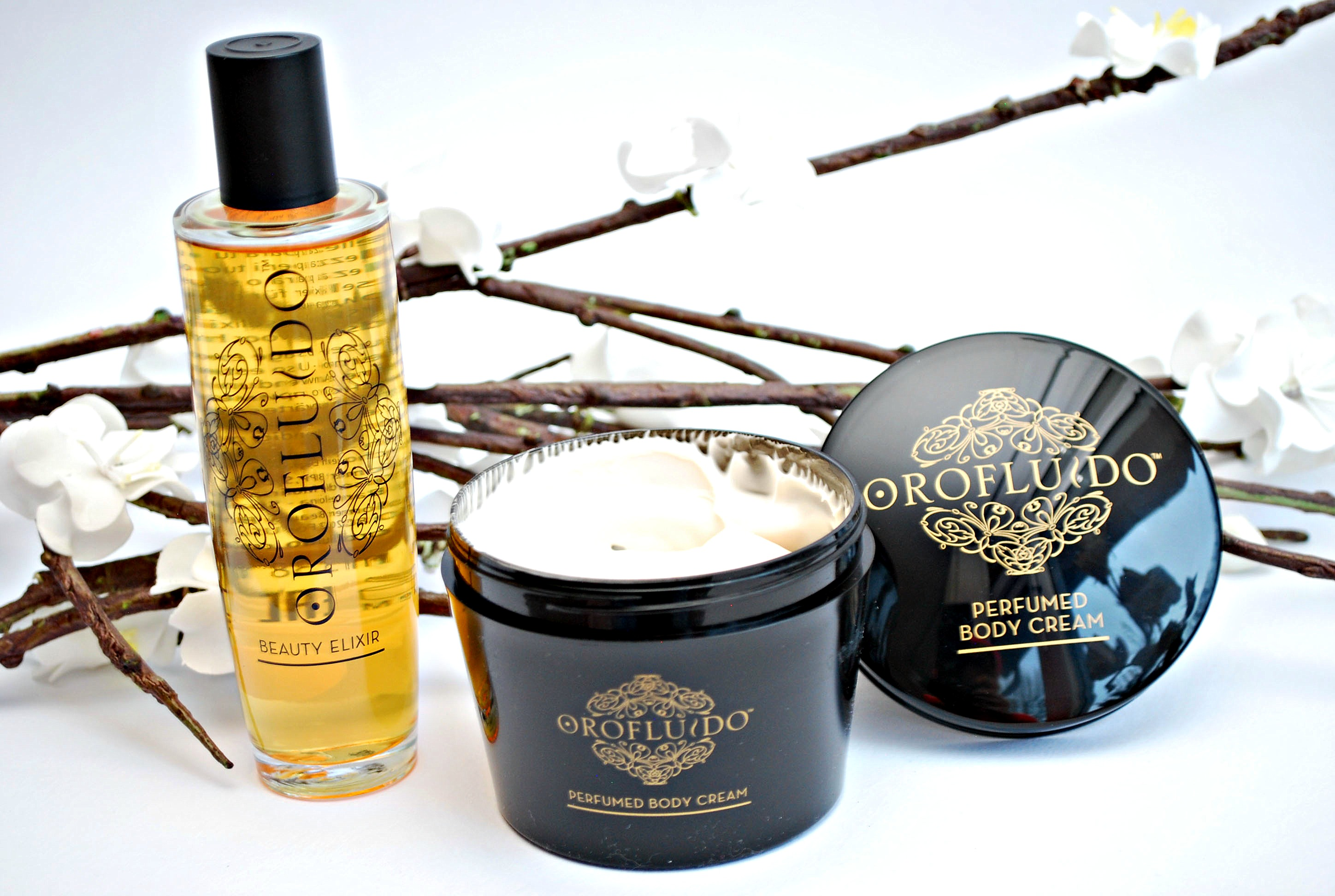 Body cream Orofluido review christmas le