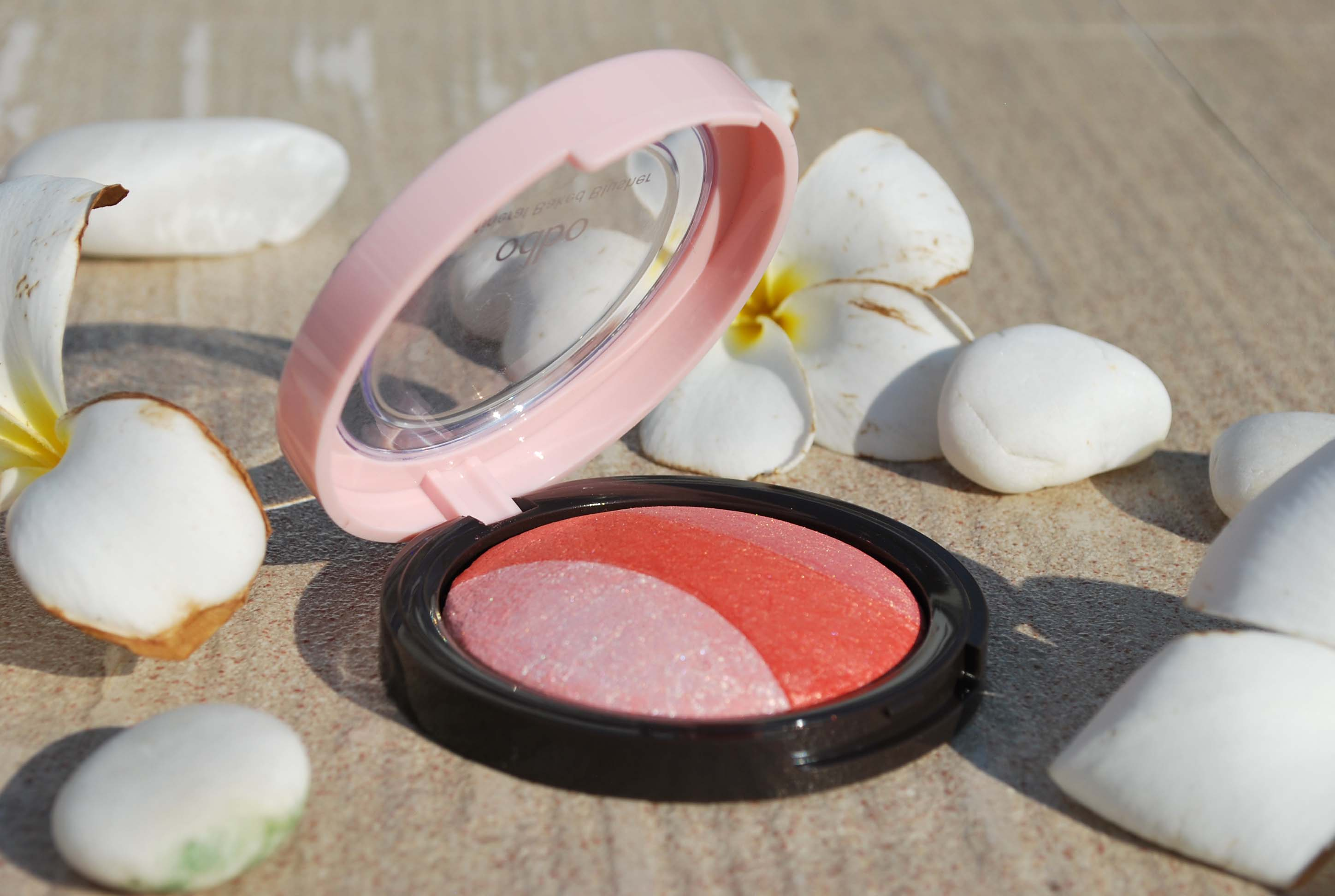 trio baked blush odbo thai make up