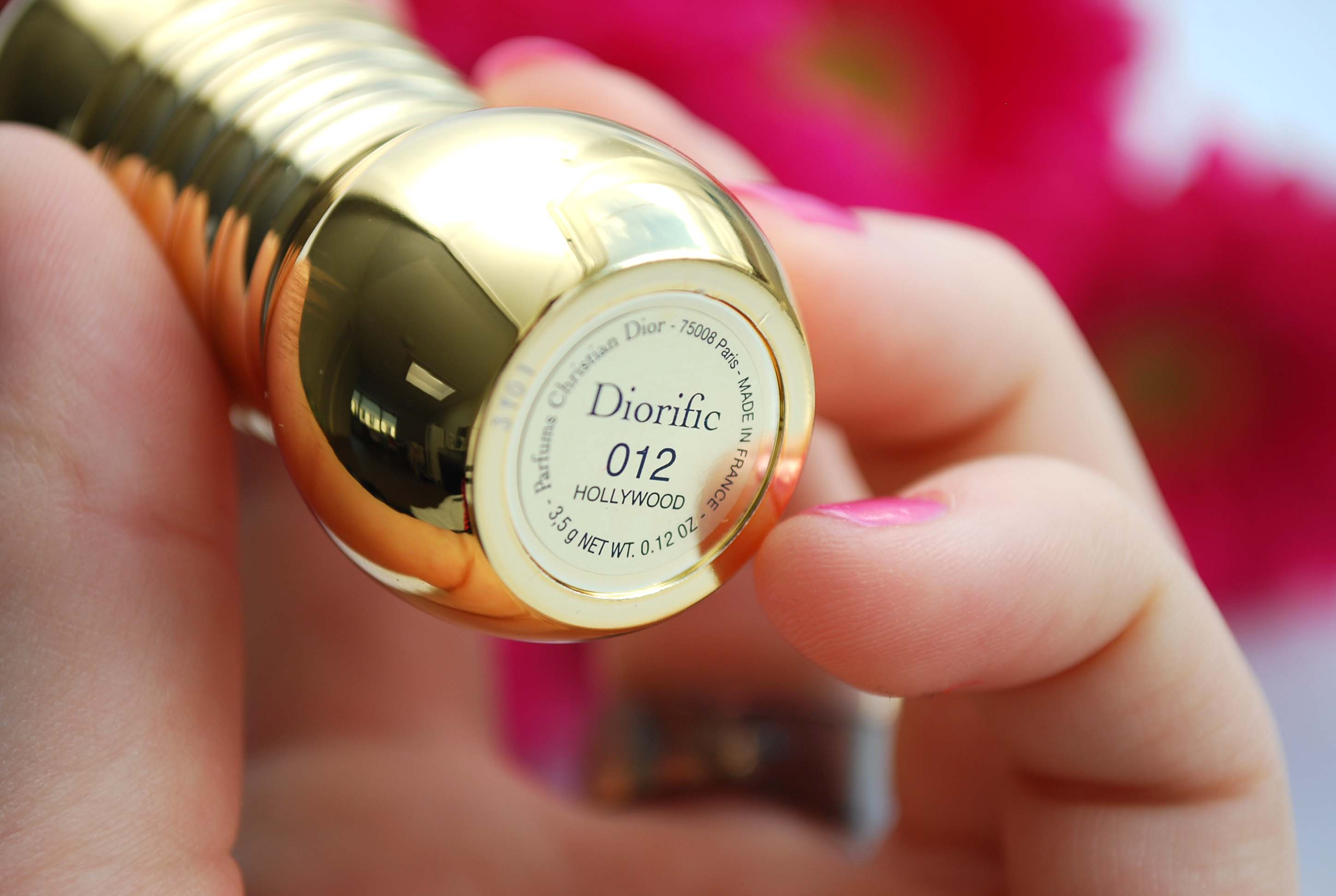 review dior lipstick hollywood 12 diorific