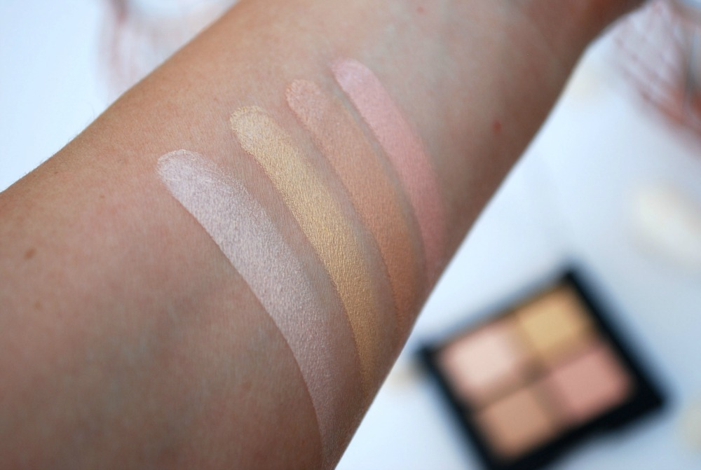 swatch hema concealer palette review