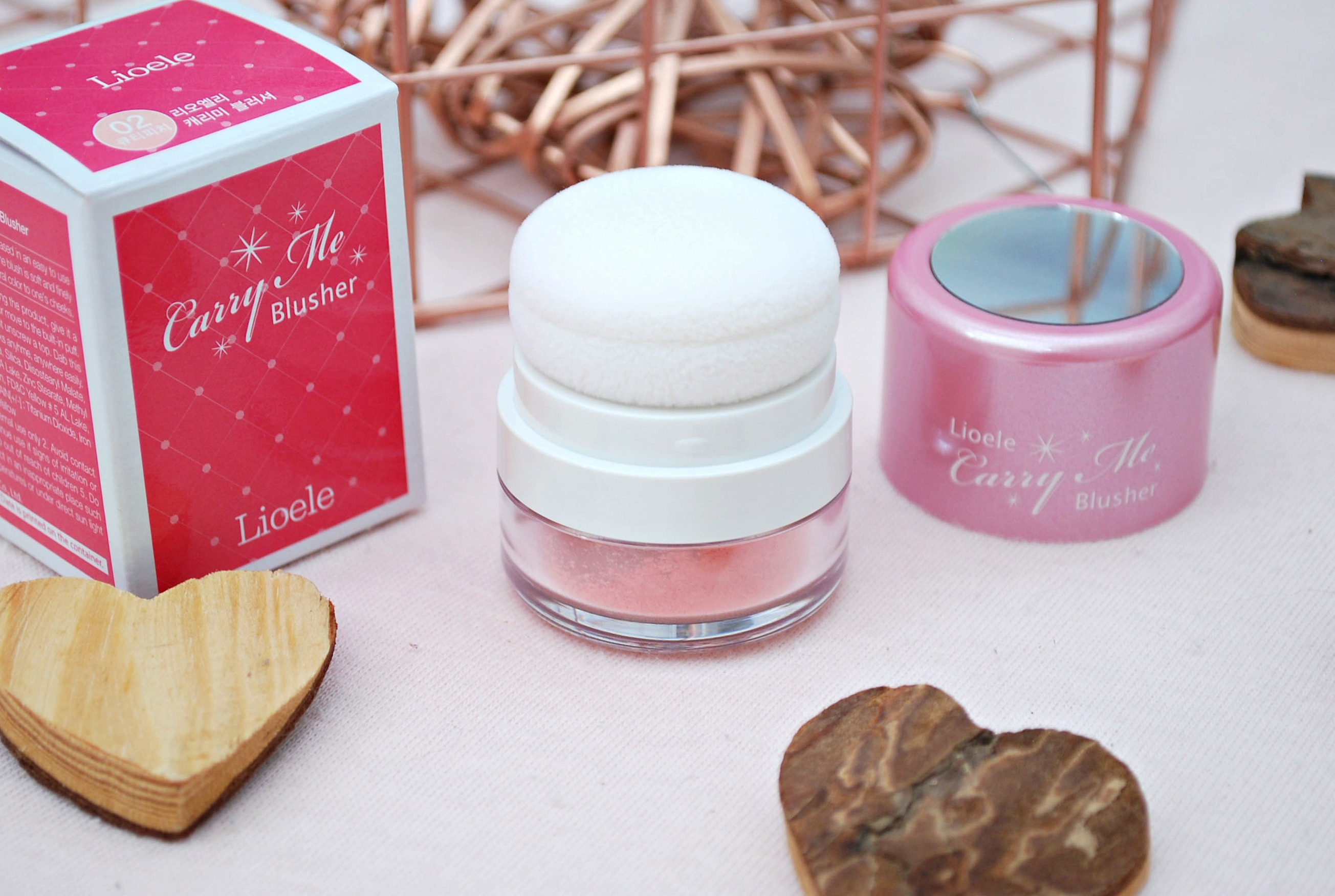 Lioele Carry Me Blusher Cutie Peach review