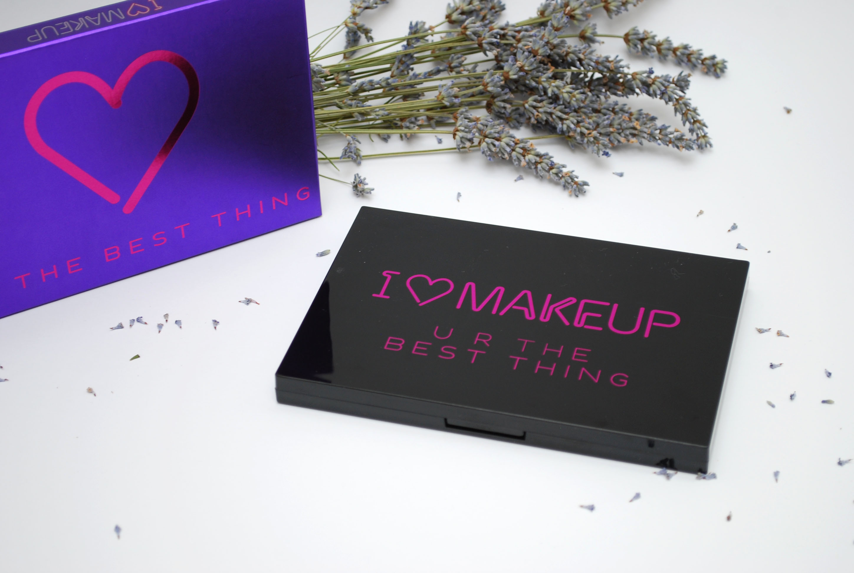 review i heart make up palette