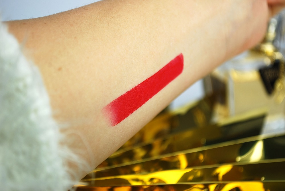 swatch Inglot review lipstick 408 matt